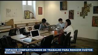 Como surgiu a modalidade de trabalho chamada Coworking?