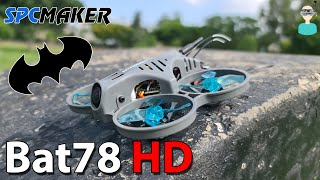 Toughest Micro Quadcopter? SPCMaker Bat78 HD - Setup, Review & Flight Footage