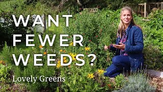 3 Tips for Gardening with Fewer Weeds