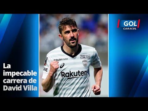 David Villa, un triunfador en cada equipo que jugó. Se retira una leyenda