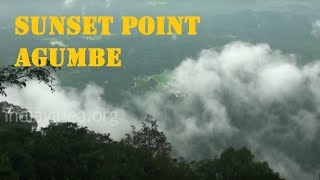 Sunset Point in Agumbe
