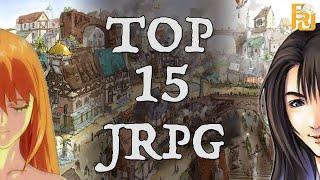 Top 15 JRPG's