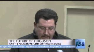 Police Chief Jackson Resigns from Ferguson Department
