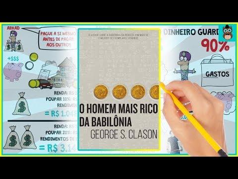 O HOMEM MAIS RICO DA BABILÔNIA   GEORGE CLASON   RESUMO ANIMADO