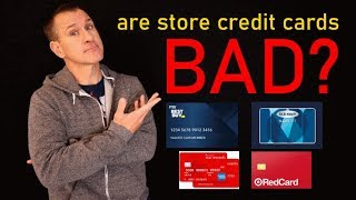 Are Store Credit Cards Bad?