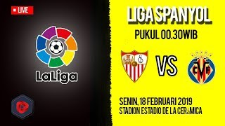Live Streaming dan Jadwal Pertandingan Villarreal Vs Sevilla di HP via MAXStream beIN Sport