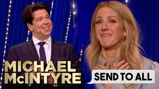 Ellie Goulding Receives Heartfelt Lyrics In Surprising Send To All! | Michael McIntyre
