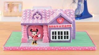 Minnie Mouse's House Cake - Tan Dulce