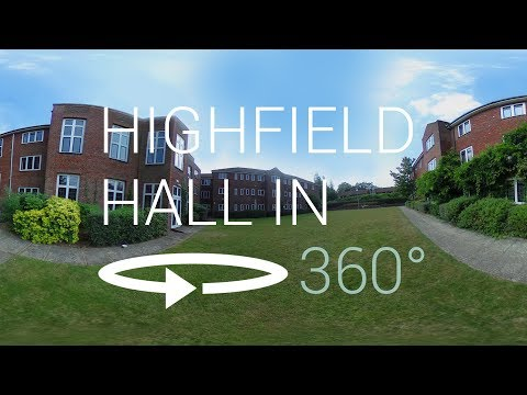 Highfield Hall 360° VR Tour | University of Southampton