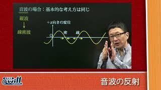吉田弘幸先生の物理①2017年度大学入試考察音波の反射
