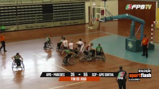 Campeonato BCR | APD Paredes - SCP-APD Sintra