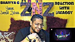Bhaiyya G   Yawar   Jannat Zubair   Reaction Video   Swaggy   SQuaD ZNZ