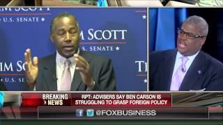 Ben Carson struggling to grasp foreign policy?