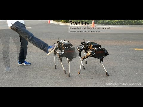 Laikago: a four leg robot is coming to you