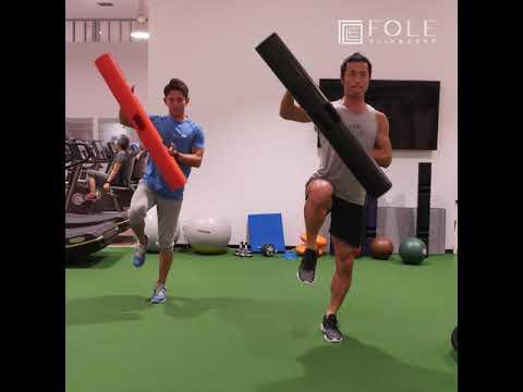 【下半身と体幹に効く!】ViPRを使ったトレーニングのご紹介です!