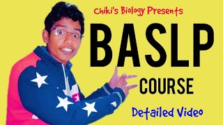 All About BASLP Course || Eligibility, Admission Procedure, Fees...By Chiki's Biology