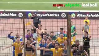 La Joie des joueurs de la JSKabylie après la qualification en demi-finale
