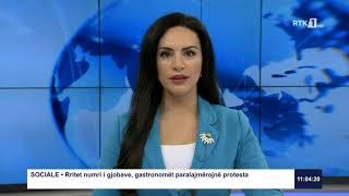 RTK3 Lajmet e orës 11:00 26.02.2021