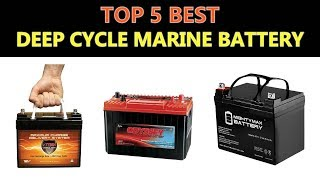 Best Deep Cycle Marine Battery 2020