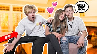 Telling My Best Friends CRUSH I Love Her PRANK To Get His REACTION **He Got MAD**😡🤣  Sawyer Sharbino
