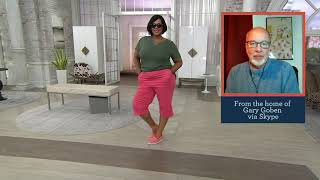 "Denim & Co. ""How Timeless"" Stretch Twill 2 Pocket Pedal Pushers on QVC"