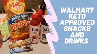 KETO DIET SNACKS AT WALMART | keto approved snacks you can get at Walmart