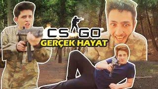 CS:GO Gerçek Olsaydı! ft GEREKSİZ ODA (CS:GO in Real Life)