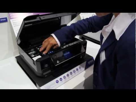 Epson Tintenpatronen austauschen/ wechseln beim Epson Expression Premium XP 600 Serie