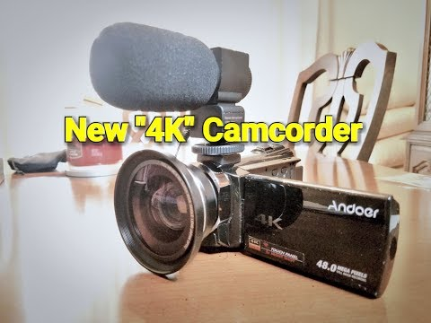 Andoer  HDV-524KM 4K Camcorder Review