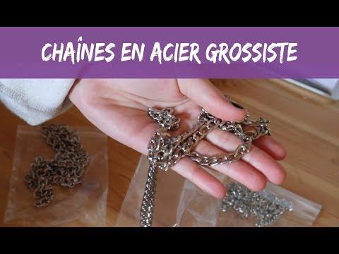 Fournisseur : chaîne en acier • Agnes Bijouterie
