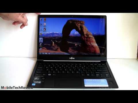 Fujitsu LifeBook U772 UltraBook Review