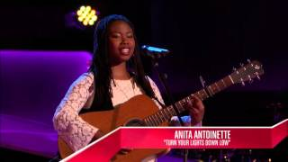 Anita Antoinette - Turn Your Lights Down Low | The Blind Audition | The Voice 2014