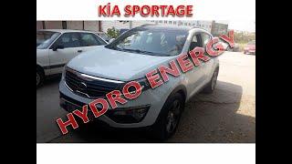 Kia Sportage 1.6 hidrojen yakıt sistem montajı