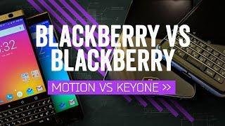 BlackBerry Motion vs BlackBerry KEYone: Buttons Make The BlackBerry