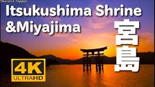 [4K]宮島と厳島神社(世界遺産)ltsukushimaShrine&Miyajima(WorldHeritage)宮島観光広島観光HiroshimaTrip