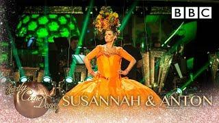 Susannah Constantine & Anton Du Beke dance the Samba to Tico Tico -  BBC Strictly 2018