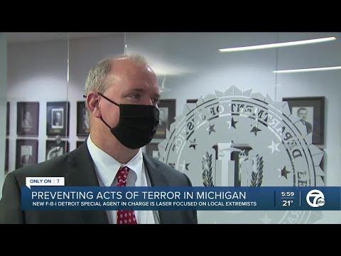 Detroit FBI 'laser-focused' on preventing acts of domestic terrorism in Michigan