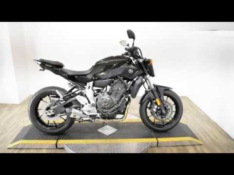 2016 Yamaha FZ-07 in Wauconda, Illinois - Video 1