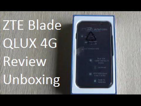 ZTE Blade Q LUX 4G Full Review and Unboxing