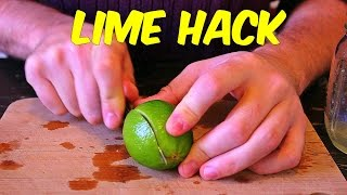 Youve Been Cutting And Juicing Your Limes Completely Wrong