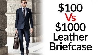 $100 Vs $1000 Leather Bag   Low Vs High Quality Bags   3 Major Differences   Tanning Process