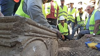 Important archaeological findings in  Jerusalem, Israel