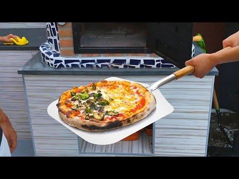 Алюминиевая лопатка для пиццы и выпечки  Homefavor Aluminum pizza and baking spatula