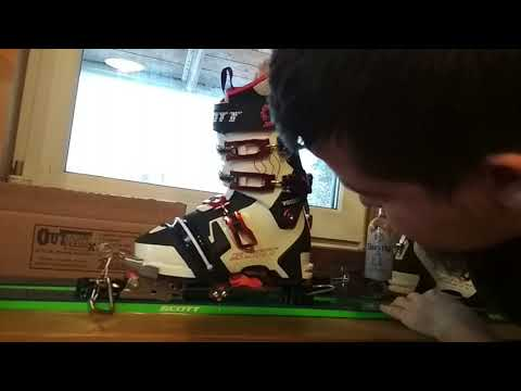 A short review of step-in option of outlaw telemark ski bindings