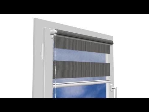 Roletas Mini Diena-Naktis I, 125x150 cm kaina ir informacija | Roletai | pigu.lt