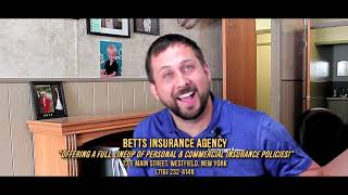 "DISC 257 - ""Betts Insurance"", Westfield, NY"