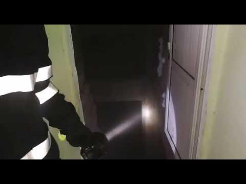Incediu în subsolul unui turn din Slatina