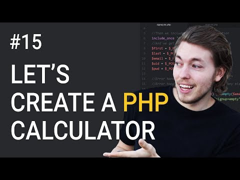 15: Exercises using PHP: Let's build a calculator | PHP tutorial | Learn PHP programming