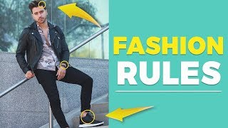 7 MENS FASHION RULES Every Guy Should Follow (For Beginners) | Alex Costa