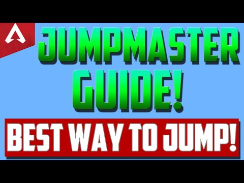 Apex Legends Jumpmaster Guide - How To Jump Faster The RIGHT Way!